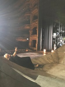 Iréne's Barcelona diary - hello from the stage!
