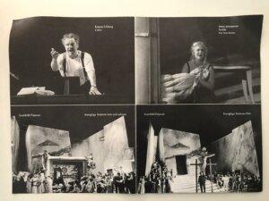 Iréne Theorin as Nedda, Pagliacci, Royal Swedish Opera